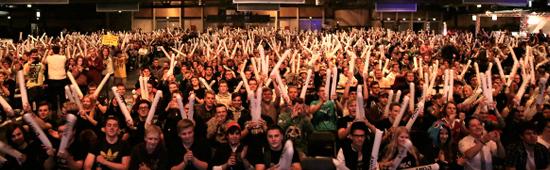 The Main Crowd